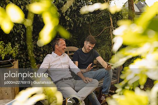 Mülheim an der Ruhr, NRW, Deutschland, Vater, Sohn, Familie, Haus, Eigentum, Immobilie, Familienleben, m59, m30 - p300m2276919 von Gustafsson