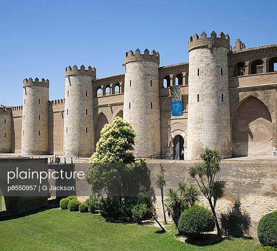 AljaferYa Palace, Zaragoza. - p8550957 by G Jackson