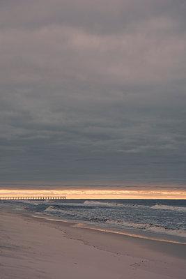 USA, Florida, Navarre, Deserted Beach - p1617m2278913 by Barb McKinney