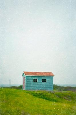 Holzhütte in Kanada - p470m1223711 von Ingrid Michel