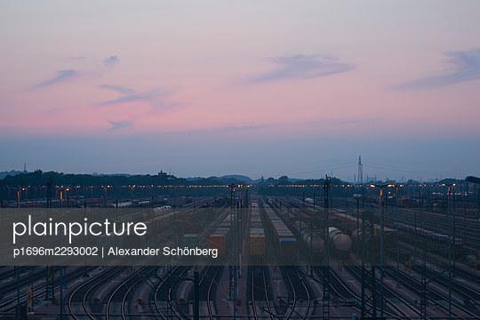 Goods train station - p1696m2293002 by Alexander Schönberg