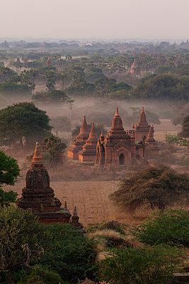 Ruins of Bagan , Myanmar , Asia - p871m1180884 by Colin Brynn