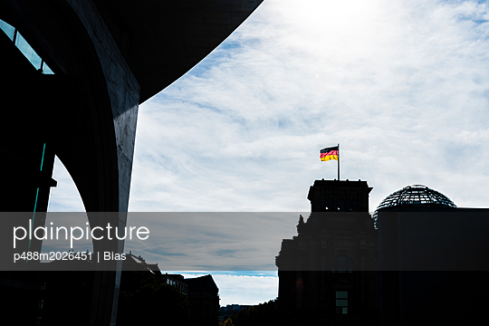 Deutschlandflagge - p488m2026451 von Bias
