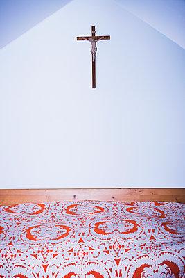 Gästezimmer in einem Kloster - p1149m2141604 von Yvonne Röder