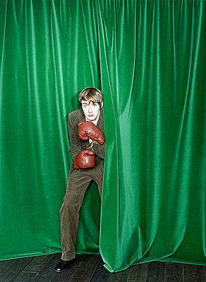 Boxer auf der Bühne - p4470222 von Anja Lubitz