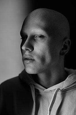 Alopecian man - p1561m2133260 by Andrey Cherlat
