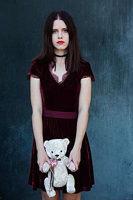 Girl with pale skin - p1412m2133497 by Svetlana Shemeleva
