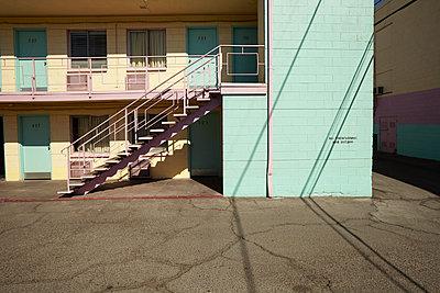 Hotel Tod in Las Vegas, leider abgerissen ... - p1525m2087424 von Hergen Schimpf