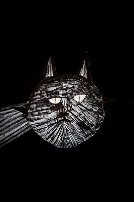 Schwarze Katze - p248m1355250 von BY