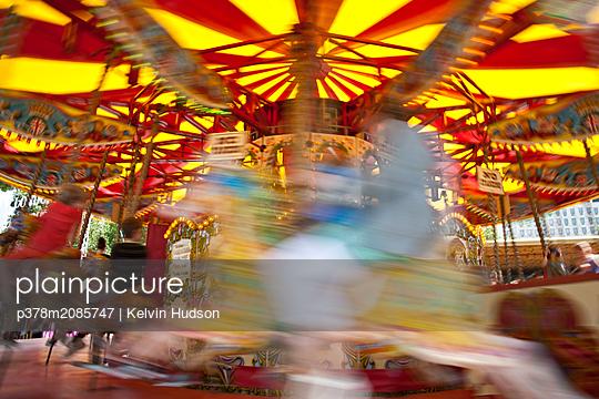 Fairground Roundabout - p378m2085747 by Kelvin Hudson