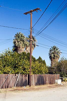 Mast mit vielen Leitungen - p1094m900216 von Patrick Strattner