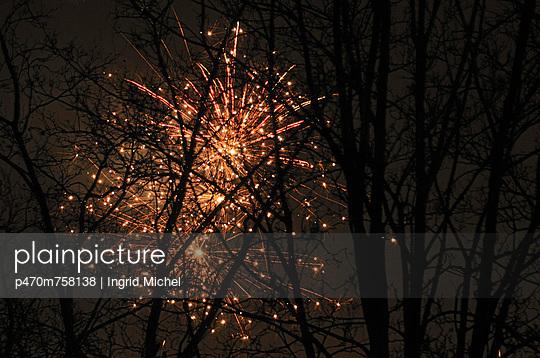 Silvester - p470m758138 von Ingrid Michel