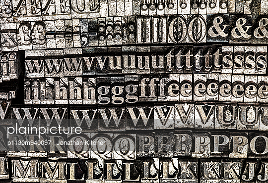 Printed blocks - p1130m940097 by Jonathan Kitchen