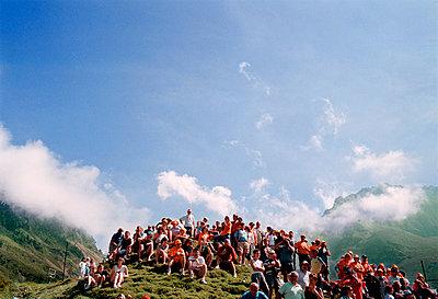 Warten auf die Tour de France, Pyrenäen - p1173m1034517 von Gilles Leimdorfer