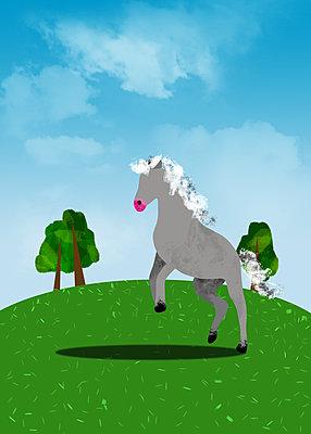 Pferd - p1655m2288474 von lindsay basson