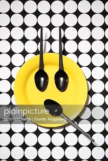 Emoji-Teller, erstaunt - p237m1136889 von Thordis Rüggeberg