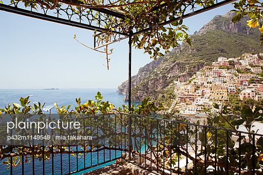 Schöne Aussicht in Positano - p432m1149549 von mia takahara