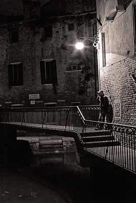 Night Canal  - p1072m829055 by Joan Seculi