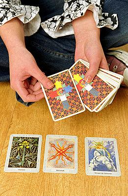 Tarotkarten legen - p1650166 von Andrea Schoenrock