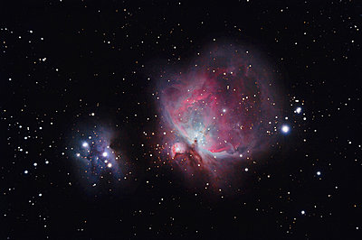 Real Orion Nebula photography taken with telescope - p300m1204812 by David Herraez Calzada