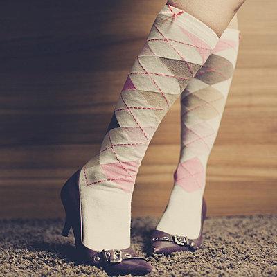 Woman wearing stockings - p946m694718 by Maren Becker