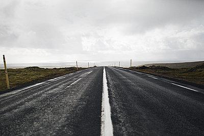 Street in iceland - p1477m1586413 by rainandsalt