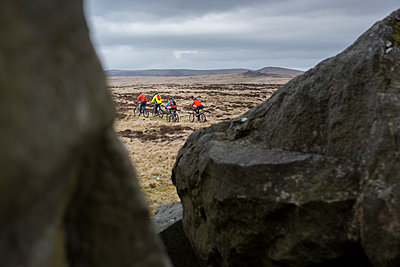 Trekking byciclists - p1057m2065733 by Stephen Shepherd