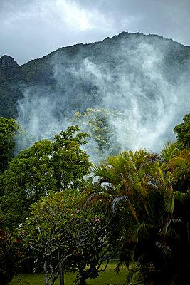 Kalalau Trail, Na Pali Coast - p1260m1072186 von Ted Catanzaro