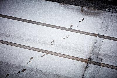 Spuren im Schnee - p1272m1333310 von Steffen Scheyhing