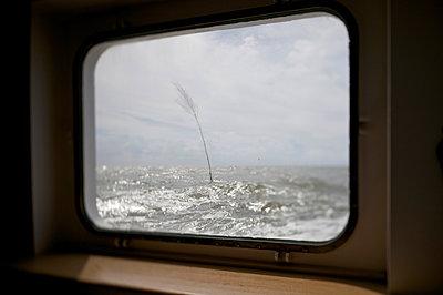 Rough sea - p819m893484 by Kniel Mess
