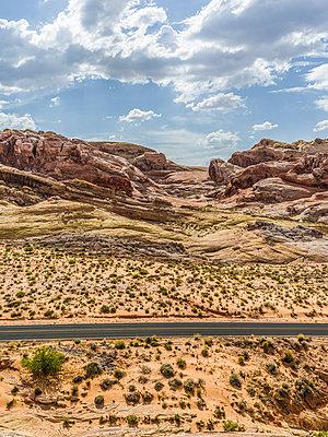 Valley of Fire, Nevada - p1232m1041128 von Moritz Schmid