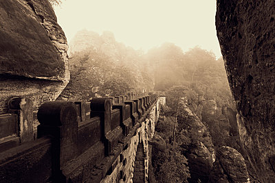 Elbe Sandstone Mountains - p300m961822 by Mel Stuart