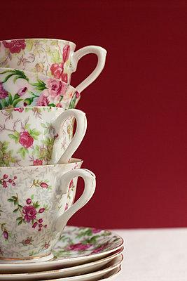 Vier Kaffeetassen - p8370010 von Cornelia Hediger