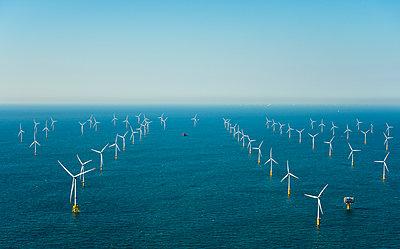 Offshore wind farm  - p1132m2126181 by Mischa Keijser