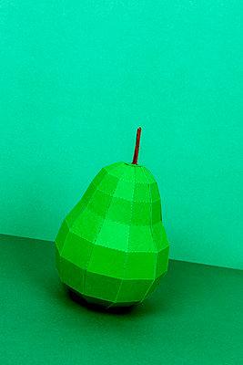 Paper pear - p451m2263523 by Anja Weber-Decker