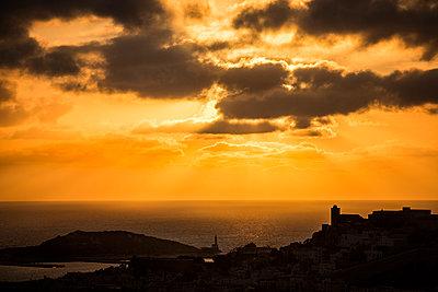 Sunset at Ibiza - p1187m971335 by Studio Steve