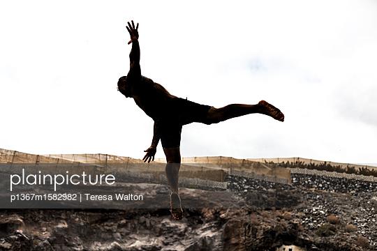 Sprung in die Tief - p1367m1582982 von Teresa Walton