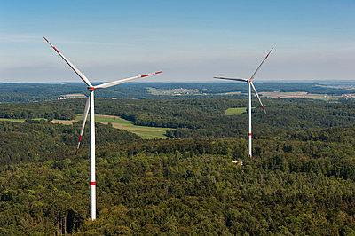 Waldwindpark Zöschingen II - p1079m880471 von Ulrich Mertens