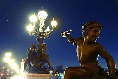 France, Paris, Bridge, Pont Alexandre III - p1189m2176221 by Adnan Arnaout