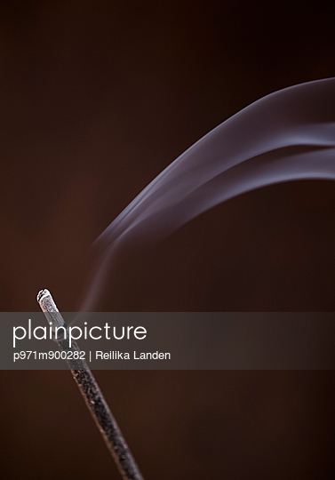 Incense burning - p971m900282 by Reilika Landen