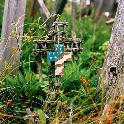 Hill-of-Crosses Lithuania Baltic-States Europe - p1097m882206 von Mélanie Bahuon