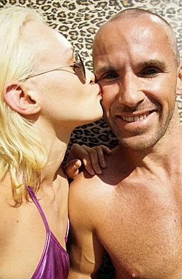 Einen Kuss aufgedrückt - p0451587 von Jasmin Sander