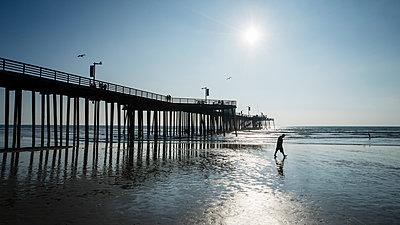 Pismo Beach Pier - p1154m1217547 by Tom Hogan
