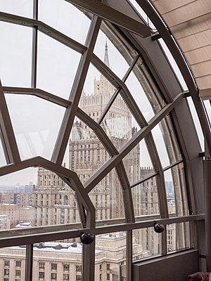 Blick auf das Russische Aussenministerium  - p390m2013438 von Frank Herfort