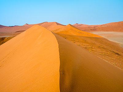 Africa, Namibia, Namib desert, Naukluft National Park, Sossusvlei, Dune 45 - p300m1568377 von Roy Jankowski