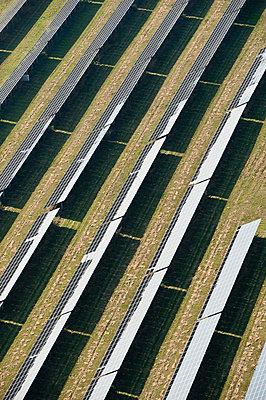 Solar panels - p1079m881302 by Ulrich Mertens