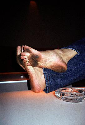 Rabenschwarze Füße - p0450152 von Jasmin Sander