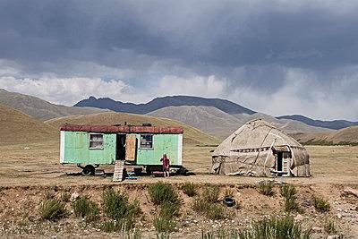 Kirgistan - p759m1207292 von Stefan Zahm