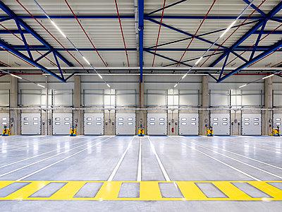 Logistics centre warehouse - p280m1137375 by victor s. brigola