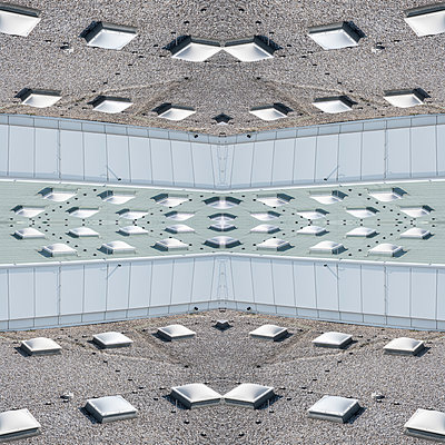Abstract Architecture Kaleidoscope - p401m2211955 by Frank Baquet